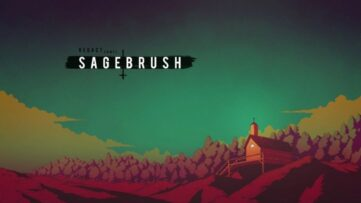 Jeu Sagebrush sur Nintendo Switch : artwork du jeu