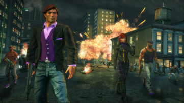 Jeu Saints Row : The Third - The Full Package sur Nintendo Switch : explosion à Steelport