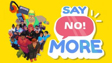 Jeu Say No! More sur Nintendo Switch - artwork du jeu