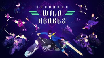 Jeu Sayonara Wild Hearts sur Nintendo Switch : artwork du jeu