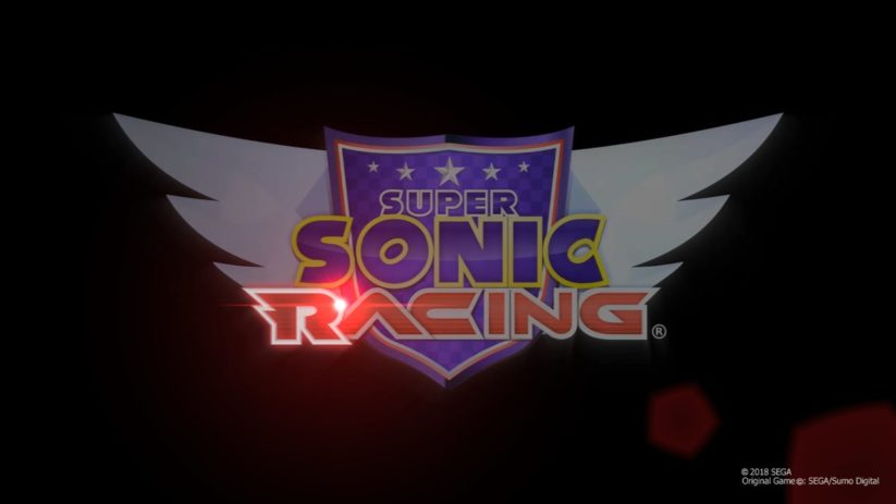 Super Sonic Racing : logo