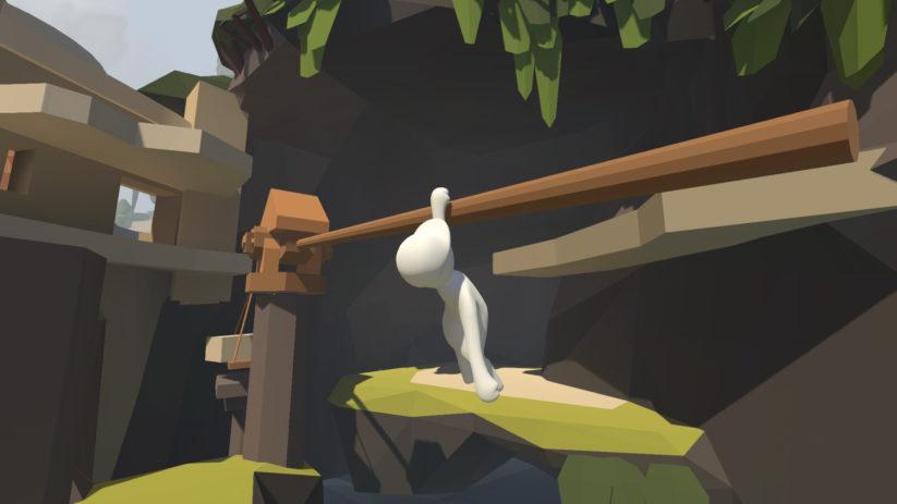 Screenshot du jeu Human Fall Flat sur Nintendo Switch : parcours
