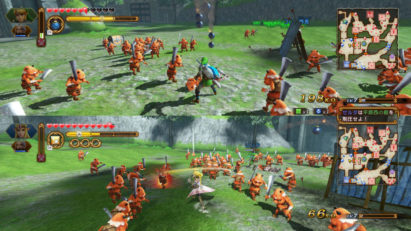 Screenshot du jeu Hyrule Warriors: Definitive Edition sur Nintendo Switch : aperçu du gameplay 1
