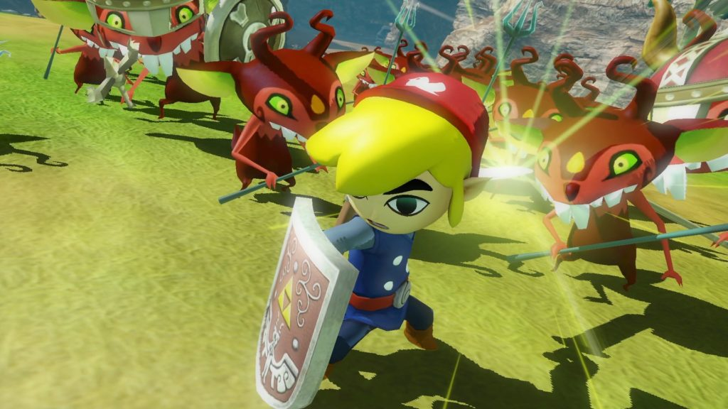 Screenshot du jeu Hyrule Warriors: Definitive Edition sur Nintendo Switch : Link enfant