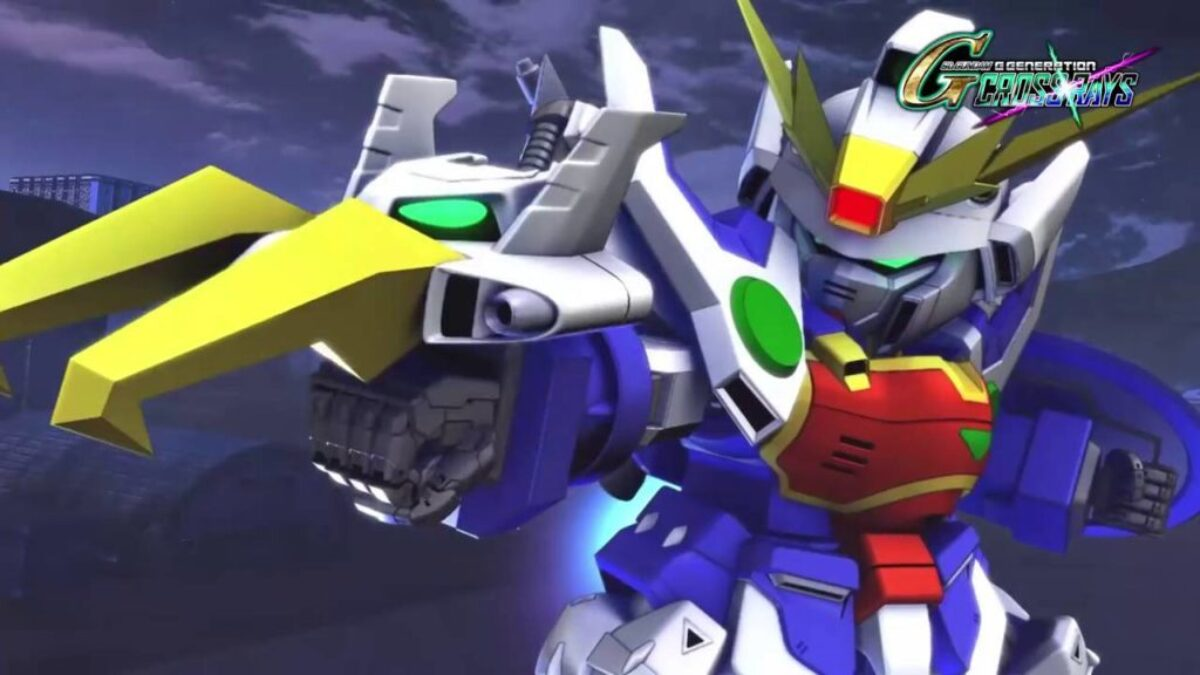 SD Gundam G Generation Cross Rays rejoint le catalogue de la Switch