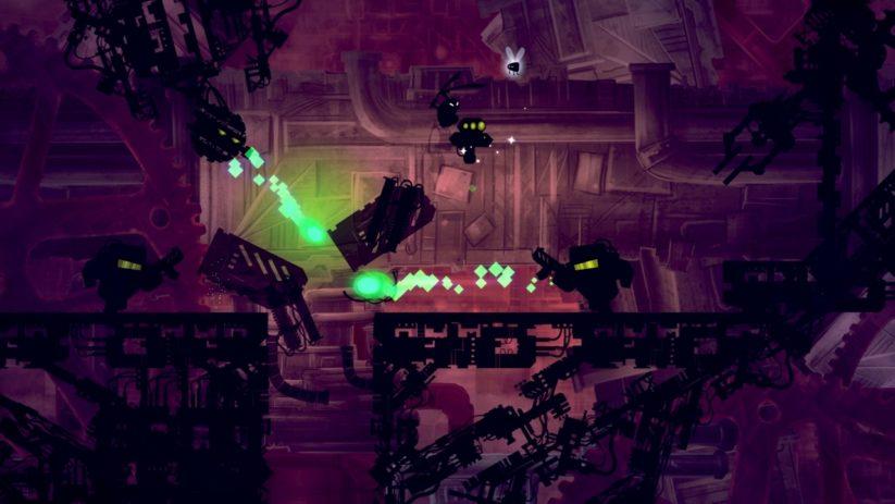 Jeu Shadow Bug sur Nintendo Switch : attaque de slime
