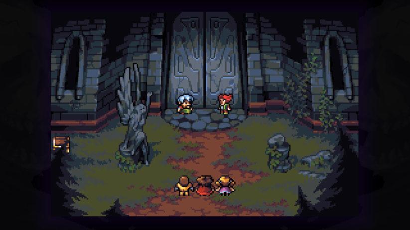Shadows of Adam est un RPG utilisant les codes des anciens JRPG