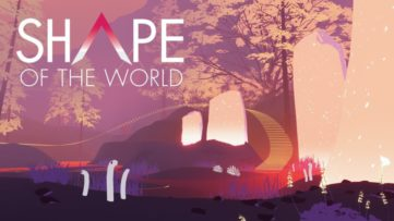 Jeu Shape of the World sur Nintendo Switch : écran titre