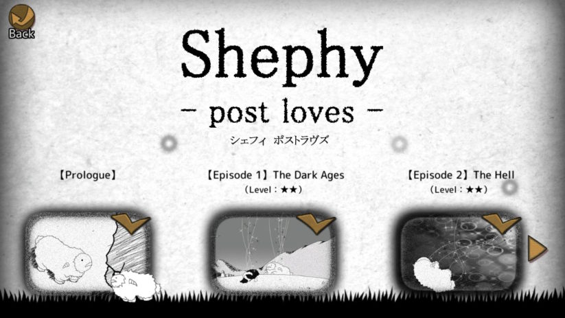 Screenshot du jeu Shephy sur Nintendo Switch : mode difficile Post loves