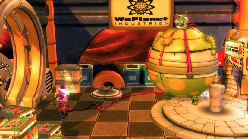 Jeu Shiftlings Enhanced Edition sur Nintendo Switch : différence de taille