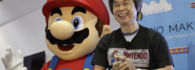 Shigeru Miyamoto et Super Mario