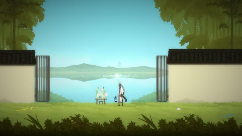 Jeu Shio sur Nintendo Switch : contemplons le paysage calme