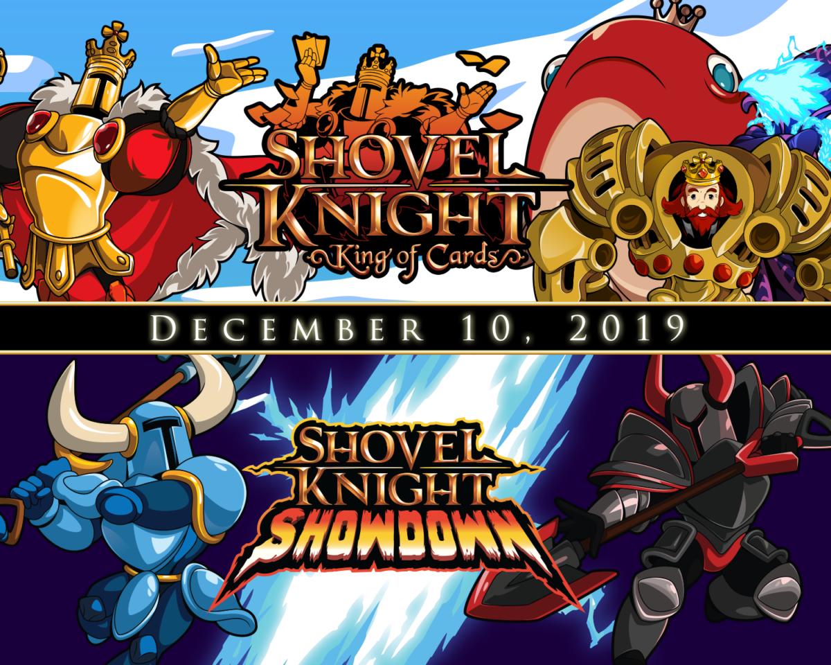 Shovel Knight King of Cards et Showdown sortiront le 10 décembre 2019, avec une sortie physique
