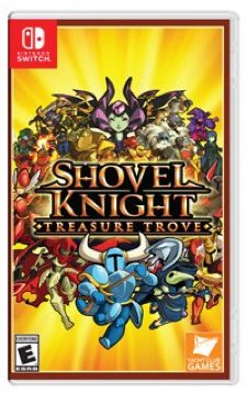 Jaquette du jeu Shovel Knight : Treasure Trove sur Nintendo Switch