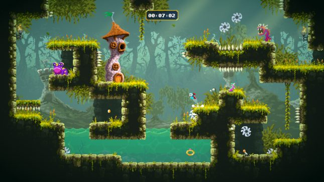 Jeu Sir Lovelot sur Nintendo Switch : Eviterez-vous les obstacles ?