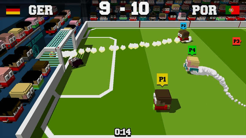 Jeu Soccer Slammers sur Nintendo Switch : but !