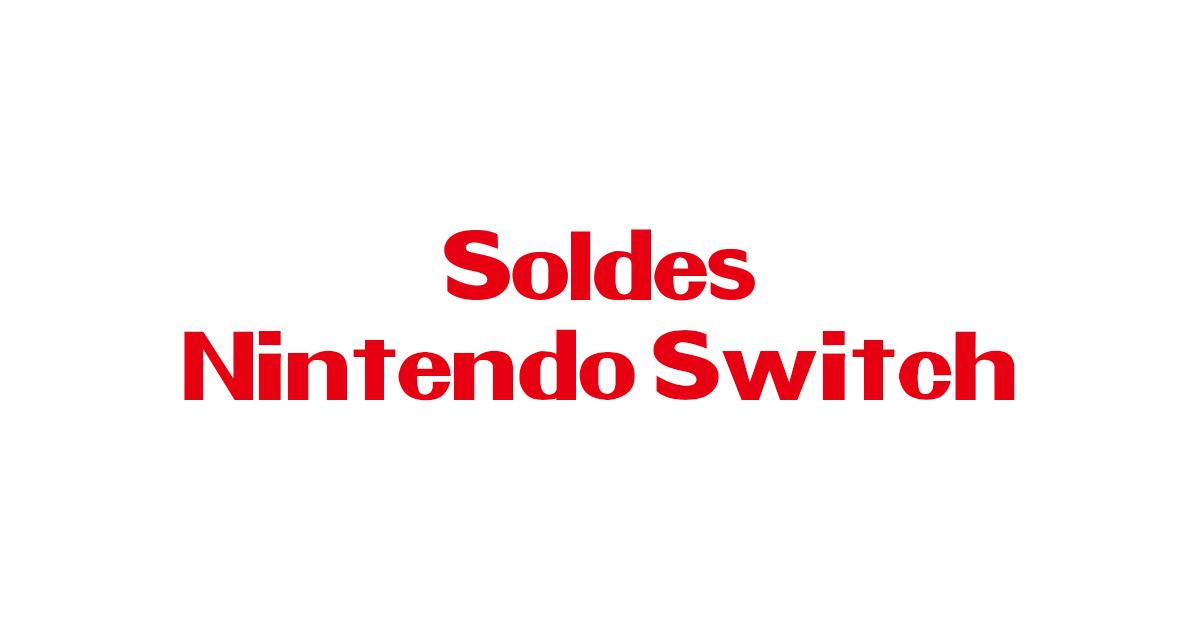 Promotions Nintendo Switch pour les soldes printemps 2018