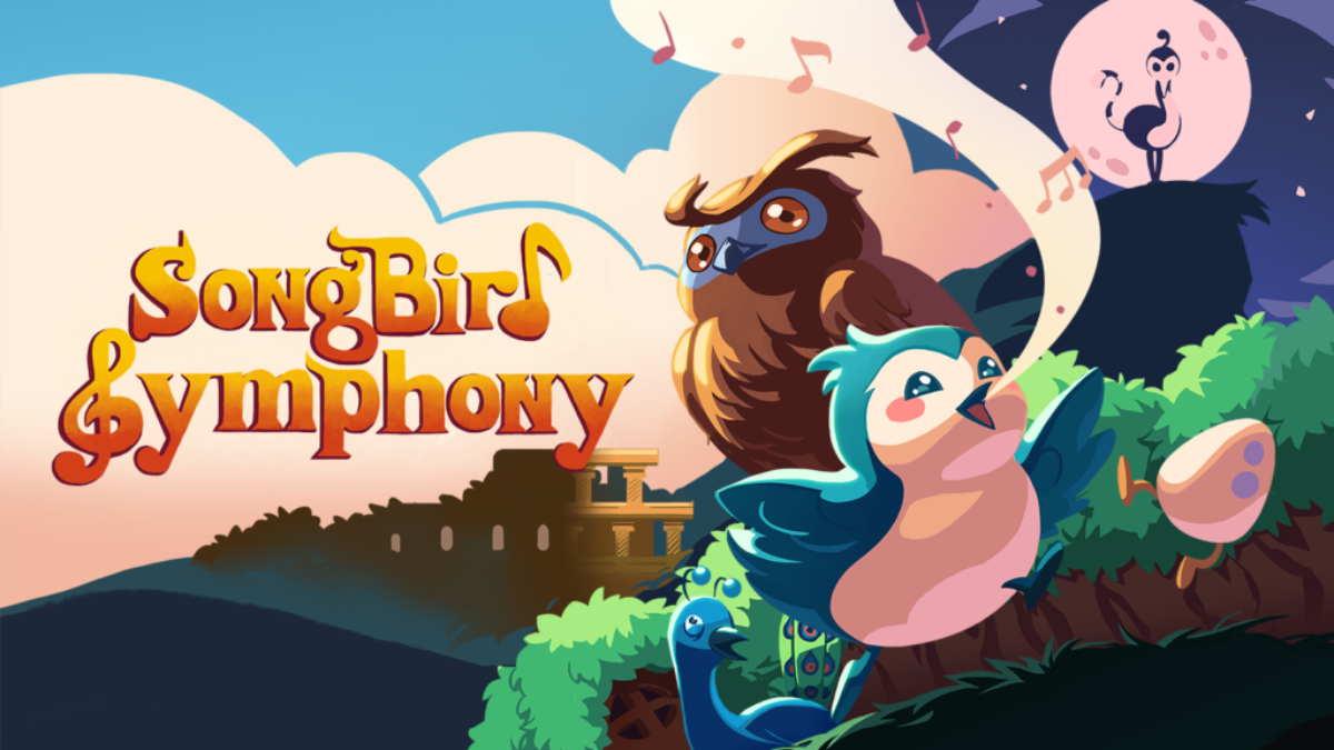 Jeu Songbird Symphony sur Nintendo Switch : artwork du jeu