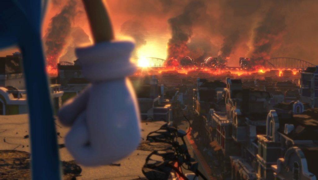 Images du jeu Switch Sonic Forces : 99,9% du monde sous la coupe du docteur Eggman