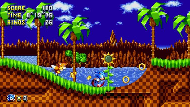 Images du jeu Sonic Mania sur Switch