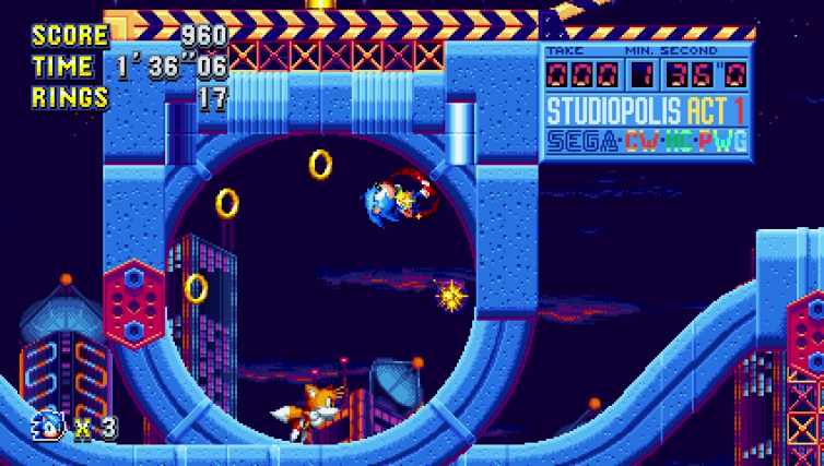 Images du jeu Sonic Mania sur Switch