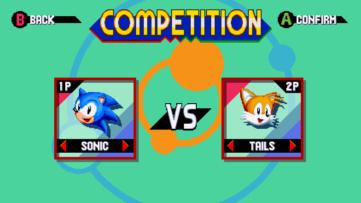 Sonic Mania mode compétition