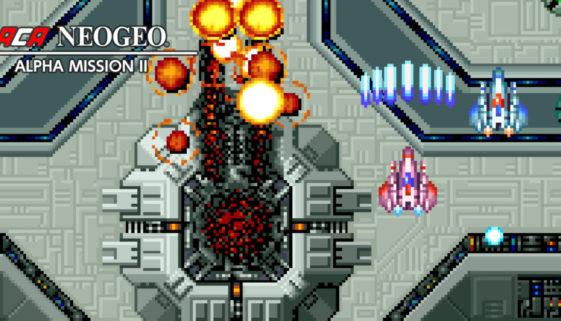 Alpha Mission II, un jeu ACA NEOGEO, est disponible aujourd'hui sur l'eShop Switch