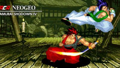 Samurai Shodown IV arrive comme prévu sur l'eShop à 6€99