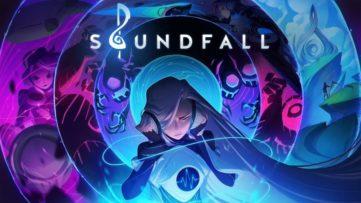Jeu Soundfall sur Nintendo Switch : artwork du jeu
