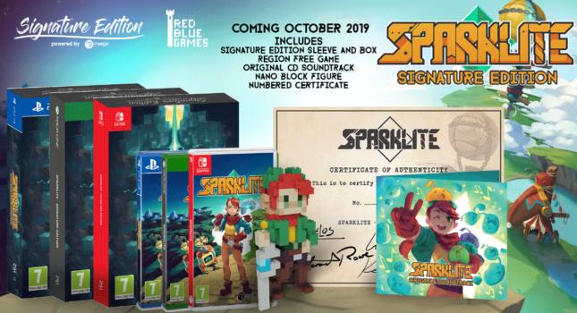 La signature édition de Sparklite