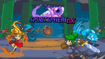 Jeu SpiritSphere DX sur Nintendo Switch : artwork du jeu