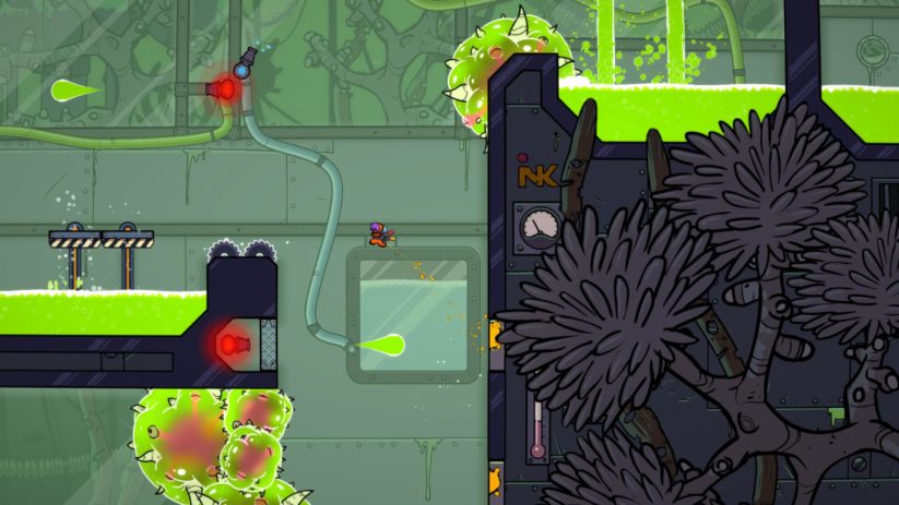 Image du jeu Splasher sur Nintendo Switch