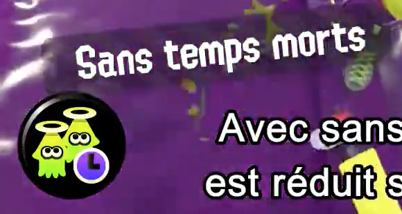 Splatoon 2 : bonus Sans temps morts