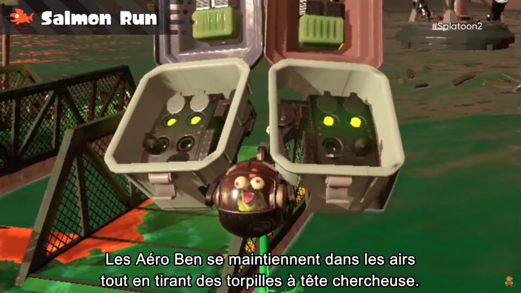 Splatoon 2 : Salmon run et Aéro Ben