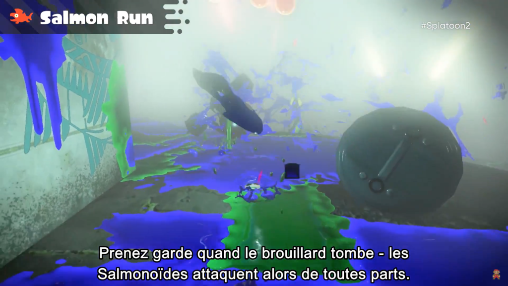 Splatoon 2 : Salmon run et brouillard