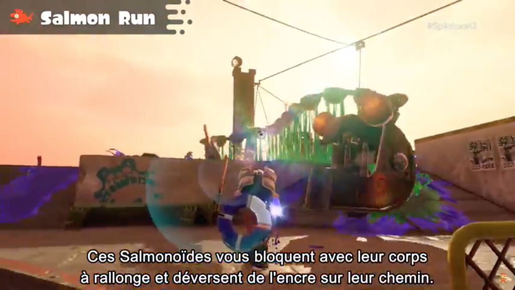 Splatoon 2 : Salmon run et Carnacier