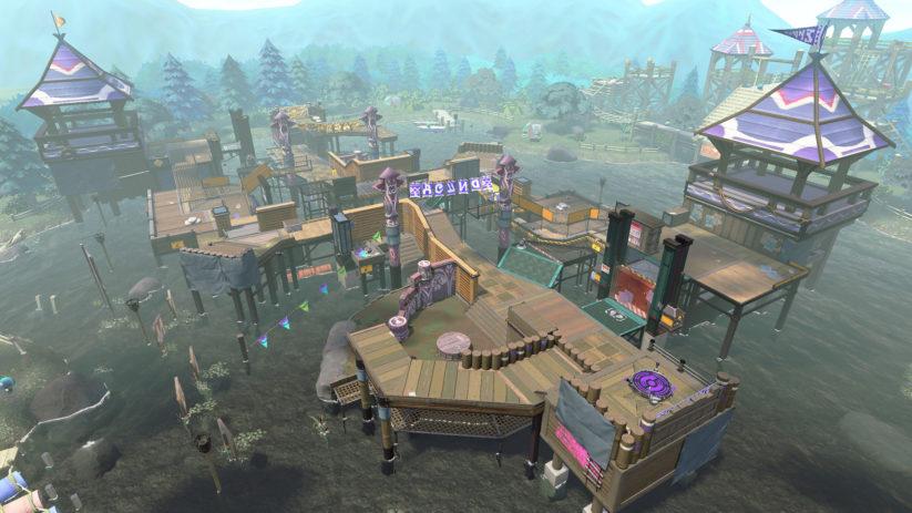 Jeu Splatoon 2 sur Nintendo Switch : retour de l'Hippo-Camping