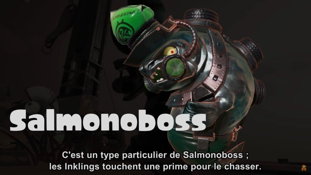 Splatoon 2 : mode Salmon Run et Salmonoboss