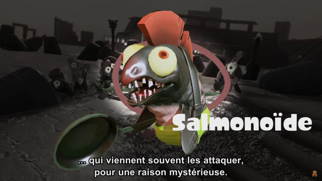 Splatoon 2 : mode Salmon Run et Salmonoïdes