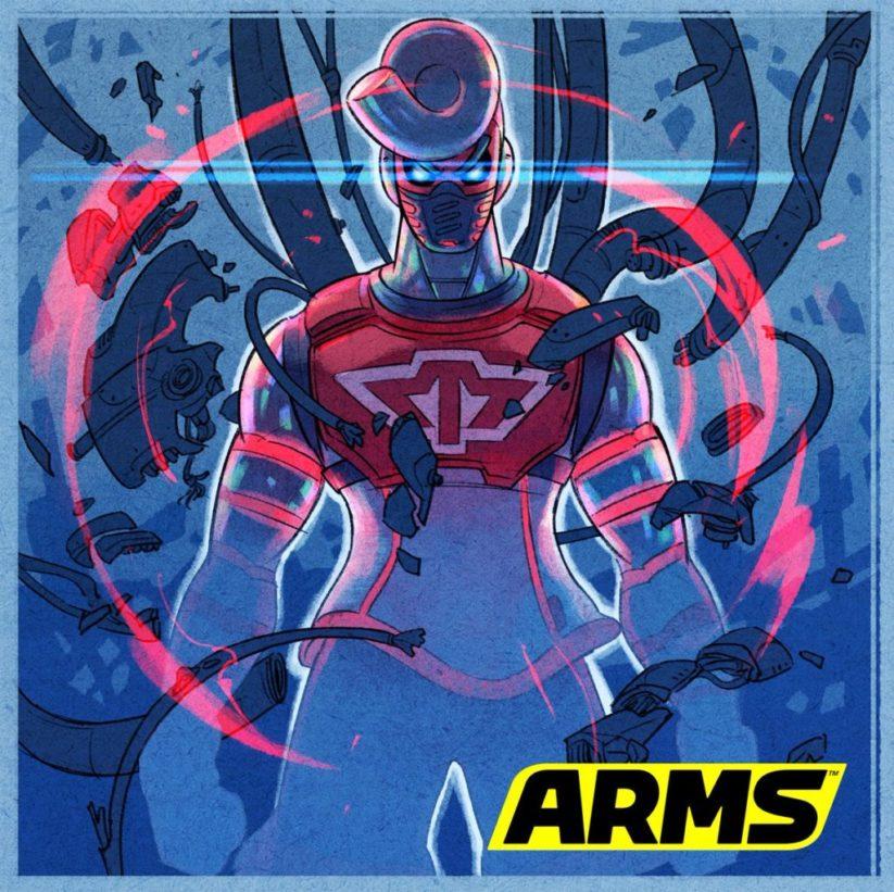 FanArt de SpringTron du jeu Arms sur Nintendo Switch