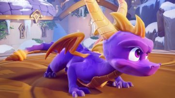 Jeu Spyro Reignited Trilogy sur Nintendo Switch : le dragon est dans les starting-blocks