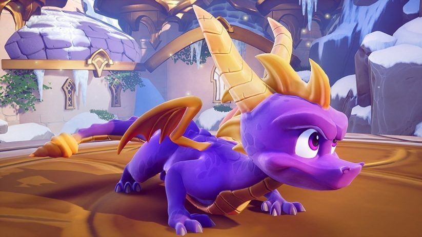 Image du jeu Spyro Reignited Trilogy sur Nintendo Switch : le retour du dragon