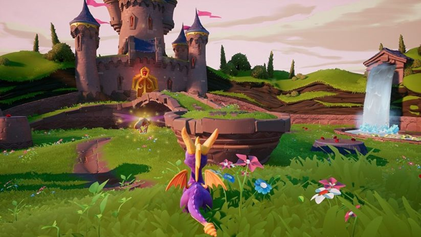 Image du jeu Spyro Reignited Trilogy sur Nintendo Switch : paysage