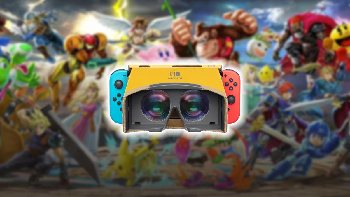 Super Smash Bros. UItimate devient compatible avec le VR Kit