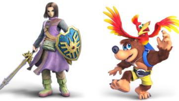 [E3 2019] Banjo et Kazooie et les Héros de Dragon Quest rejoignent Super Smash Bros. Ultimate