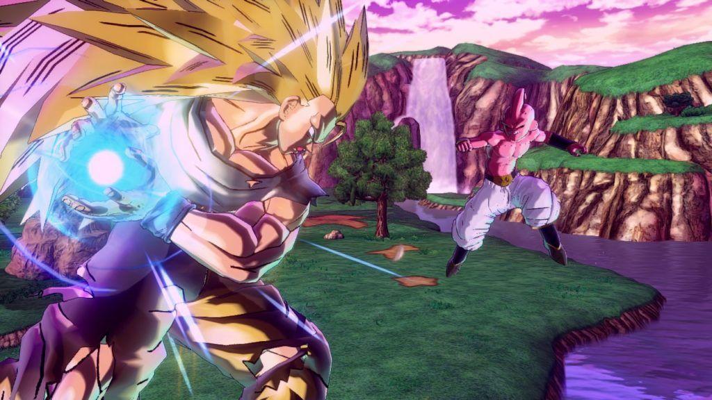 Goku ssj3 versus buu