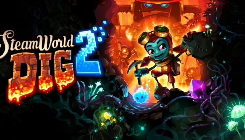 Jeu SteamWorld Dig 2 sur Nintendo Switch : artwork du jeu