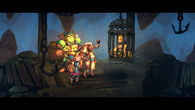 Jeu SteamWorld Quest : Hand of Gilgamech sur Nintendo Switch : rencontrez Orik