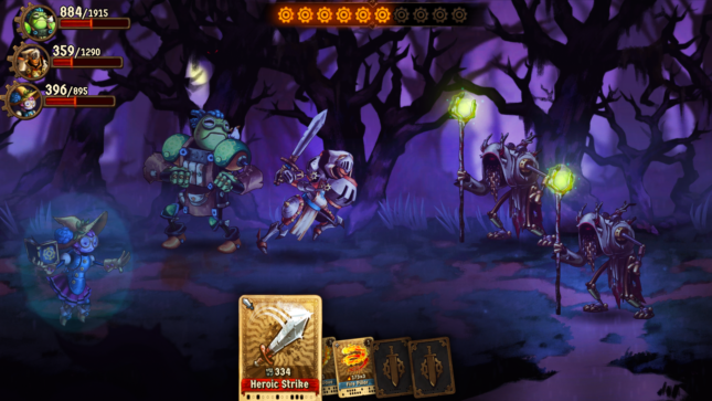 Jeu SteamWorld Quest : Hand of Gilgamech sur Nintendo Switch : affrontez les druides