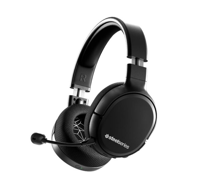 Le casque SteelSeries Arctis 1 Wireless adapté à la Nintendo Switch